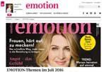 Frauenmagazin EMOTION