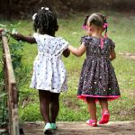 Freunde im Kindesalter