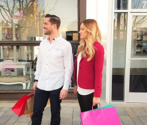 Spontaneität beim Shopping
